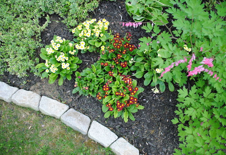 Making Flower Beds With Brick