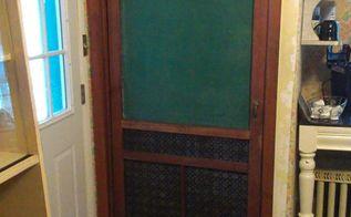 screen door kitchen pantry door, closet, doors, kitchen design, repurposing upcycling