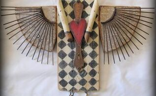 primitive junk angel diy, crafts, how to, repurposing upcycling