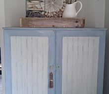 dining room essentials a vintage cupboard in new paint, painted furniture, rustic furniture