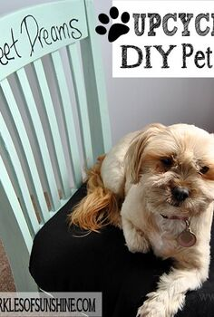 upcycled diy pet bed from an old chair, how to, pets animals, repurposing upcycling