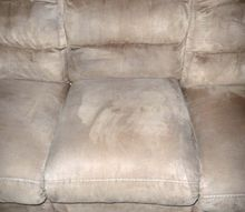 cleaning a microfiber couch the environmentally friendly way, cleaning tips, go green, painted furniture, reupholster