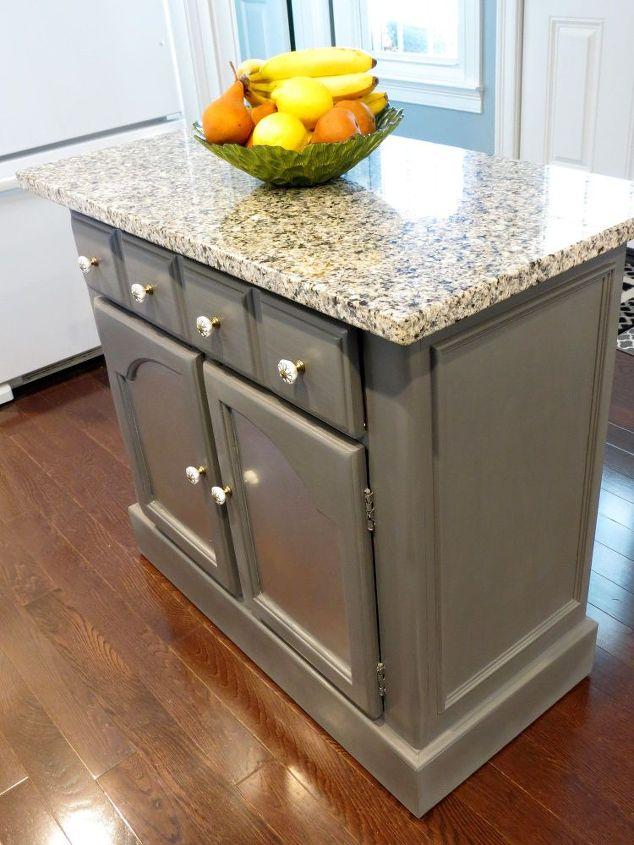 Kitchen Island Makeover - Interior Design