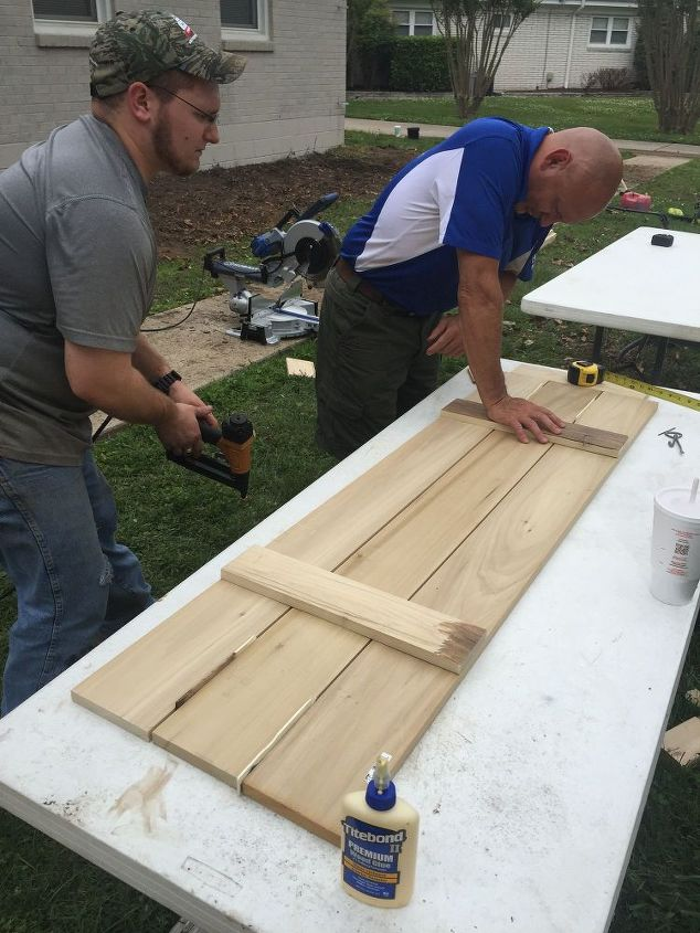 How To Build Board And Batten Shutters Hometalk