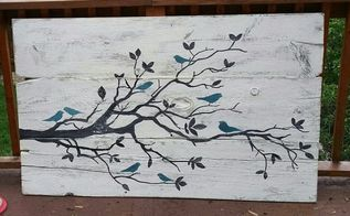 old wood fence boards to work of art, crafts, fences, repurposing upcycling