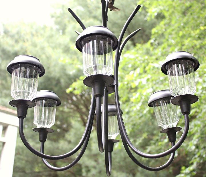 How to make a garden chandelier hometalk - Building a chandelier ...