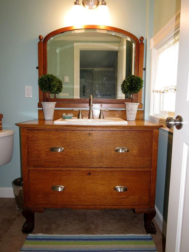 From Dresser To Bathroom Vanity Hometalk