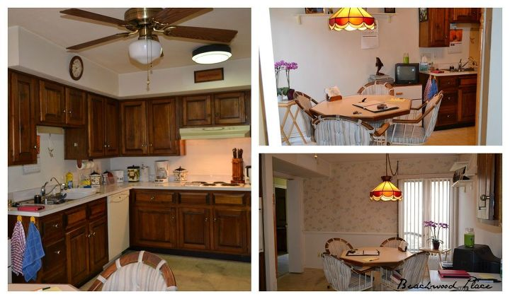 A country cottage kitchen makeover hometalk for Country cottage kitchen designs