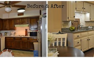 a country cottage kitchen makeover, kitchen design