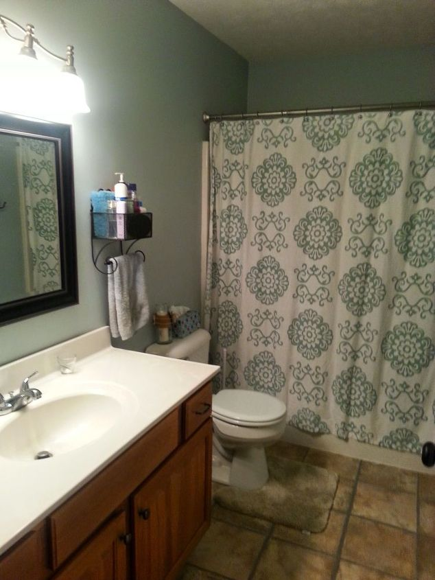 How to update your bathroom for under 50 hometalk for Updating bathroom ideas