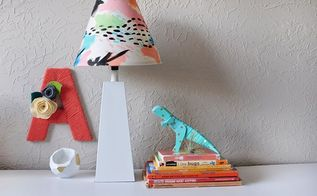 creating custom painted lamp shades, crafts, how to, lighting