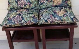 tables to patio chairs, outdoor furniture, painted furniture, repurposing upcycling