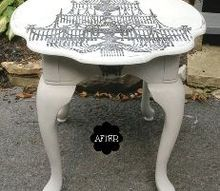 image transfers on painted furniture, decoupage, how to, painted furniture