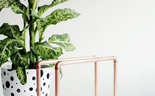 copper pipe magazine rack, diy, how to, repurposing upcycling, storage ideas