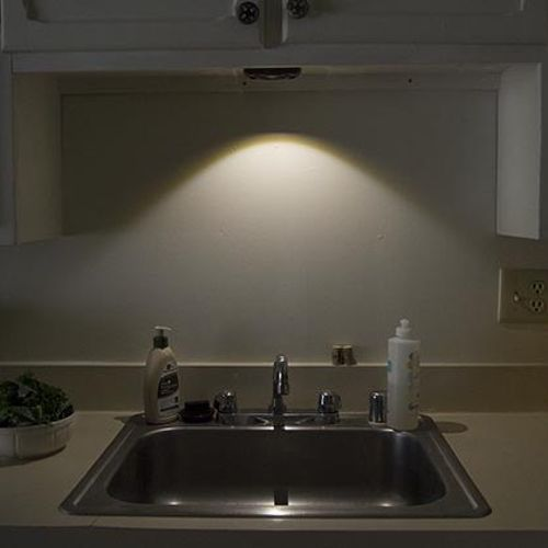 i want to put lights under my kitchen cabinets to add more light