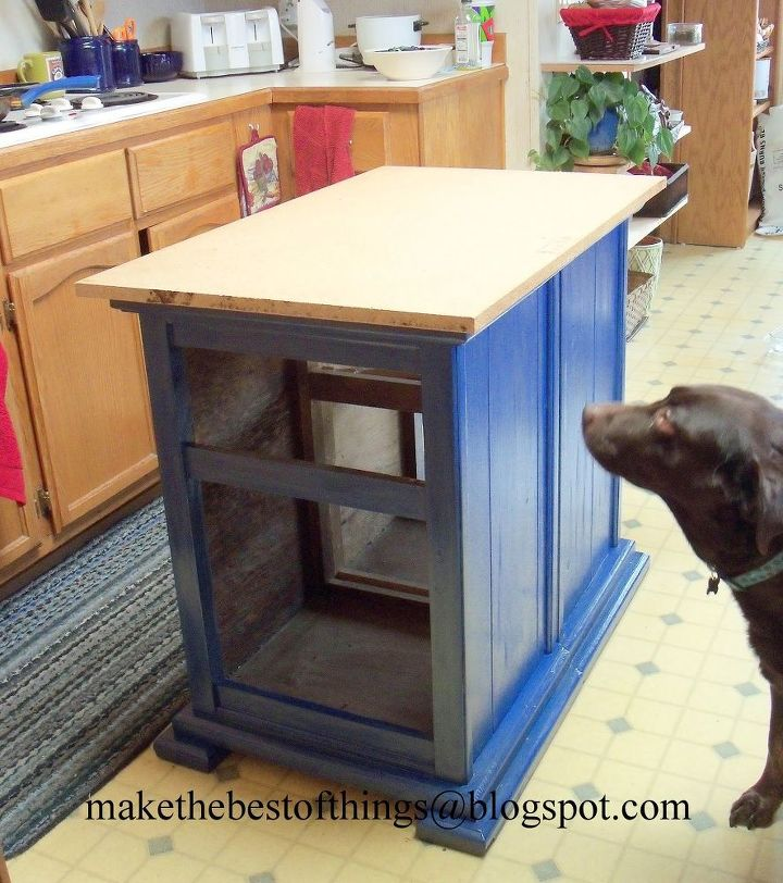 Turn Nightstands Into A Kitchen Island Kitchen Design Kitchen Island Painted Furniture