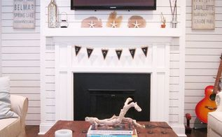 nautical living room and home decor, living room ideas