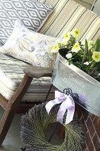 spring summer porch makeover, container gardening, gardening, outdoor living, porches
