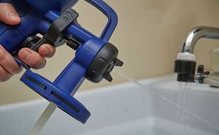 rapid clean system for your finish max, cleaning tips, tools