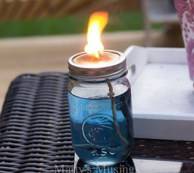 diy mason jar citronella candles chase mosquitoes away and look great how to mason