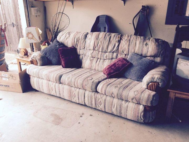 Repurposing An Old Worn Out sofa | Hometalk