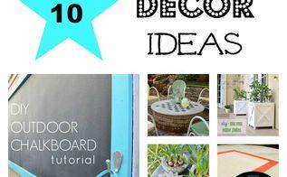 10 outdoor decor ideas, gardening, home decor, outdoor living