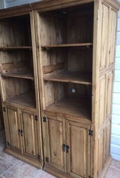 repurposed cabinets to garden planter boxes, container gardening, gardening, painted furniture, repurposing upcycling
