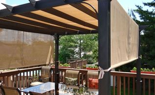 best pergola for sun relief, decks, outdoor living