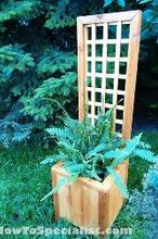 diy trellis planter, container gardening, diy, gardening, how to, woodworking projects