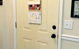 sunny yellow chalk painted door, chalk paint, doors, painting