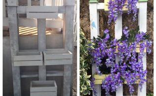 garden pallet makeover, container gardening, flowers, gardening, pallet, repurposing upcycling, Garden Pallet Makeover