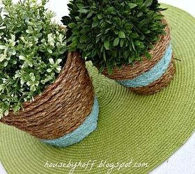 How To Upcycle Cheap Flower Pots, Container Gardening, Crafts, Gardening,  Project Via