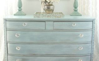 spring bureau, painted furniture, shabby chic