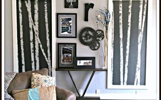 inexpensive gallery wall, repurposing upcycling, wall decor