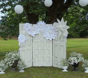 recycled doors for a boho wedding doors outdoor living repurposing upcycling shabby & Recycled Doors For a Boho Wedding | Hometalk Pezcame.Com