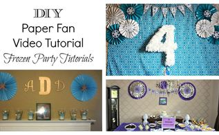 diy paper fan tutorial, crafts, how to