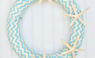 how to make a pool noodle starfish wreath, crafts, how to, repurposing upcycling, wreaths