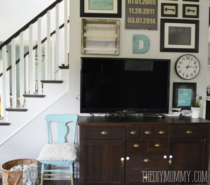 A Vintage Industrial Country Summer Home Tour Home Decor Living Room Ideas Repurposing