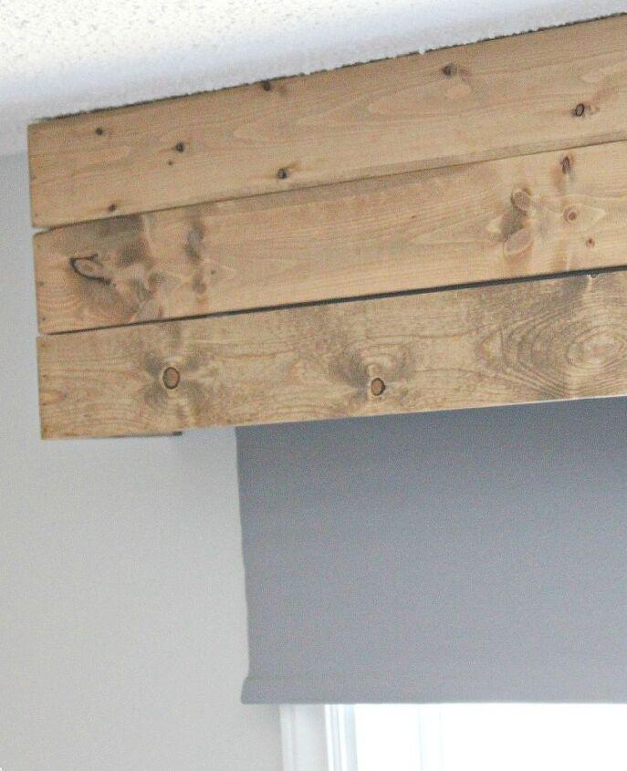 How To Make Wood Window Valances