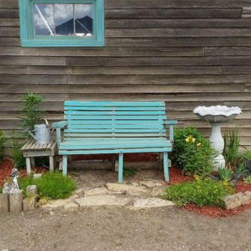 Garden Furniture Paint Colours what color should i paint my garden bench? | hometalk