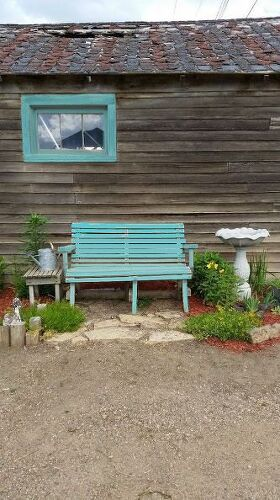 What Color Should I Paint My Garden Bench Hometalk