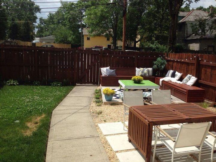 Outdoor Rug On Grass Backyards