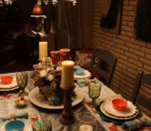 spring tablescape decorating, dining room ideas