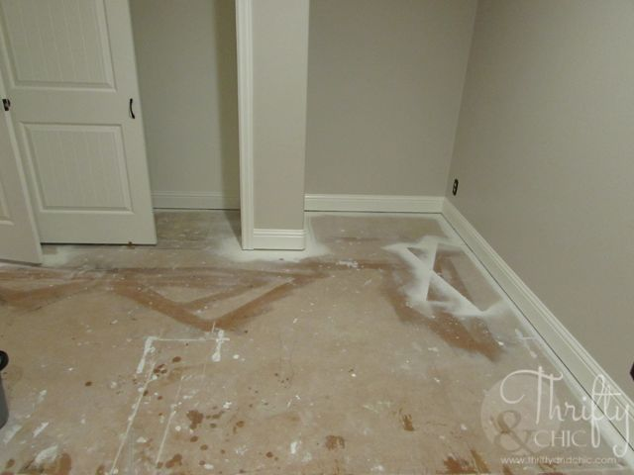 Painted Plywood Sub Flooring Hometalk