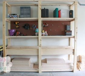 Easy Diy Garage Shelving, Diy, Garages, How To, Shelving Ideas, Woodworking Part 92