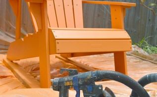 painting outdoor furniture with a paint sprayer, outdoor furniture, painted furniture