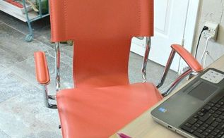 how to paint leather furniture, chalk paint, how to, painted furniture