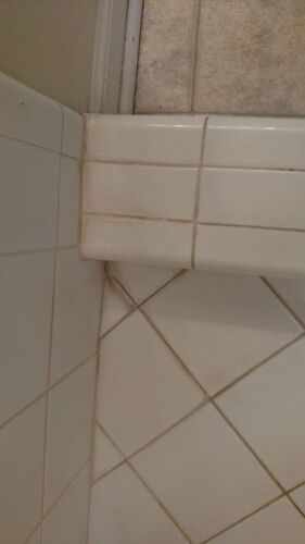 Getting Lime Calcium Amp Rust Off Ceramic Tile Hometalk
