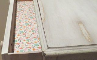 shabby chic painted chest of drawers, painted furniture, Shabby Chic Bliss