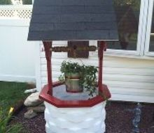 how to make a wooden garden wishing well, gardening, how to, outdoor living, woodworking projects